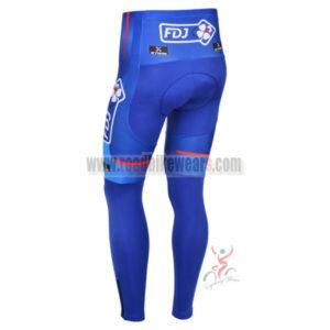 2013 Team FDJ Pro Cycle Long Pants