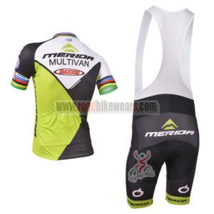 2013 Team MERIDA UCI Pro Cycle Bib Kit