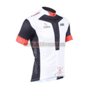 2013 Team NALINI Cycling Jersey White Black