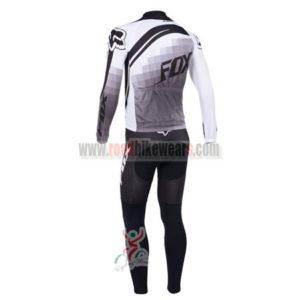 2013 Team FOX Pro Riding Long Kit Grey