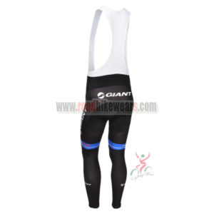 2013 Team GIANT Pro Riding Bib Pants Black Blue
