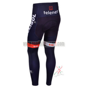 2013 Team LOTTO BELISOL Pro Cycle Long Pants