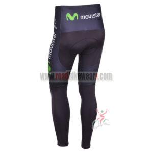2013 Team Movistar Pro Cycle Long Pants