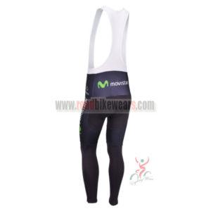 2013 Team Movistar Pro Riding Long Bib Pants