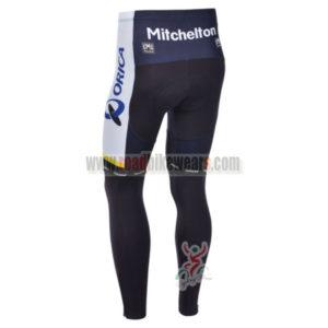 2013 Team ORICA GreenEDGE Bicycle Long Pants Blue