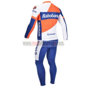 2013 Team RABOBANK Riding Long Kit