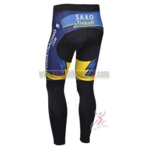 2013 Team SAXO BANK Pro Cycle Long Pants
