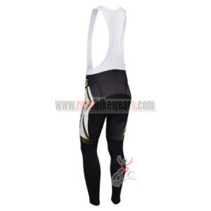 2013 Team SCOTT Pro Riding Long Bib Pants White Black Yellow