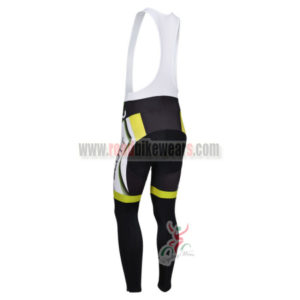 2013 Team SCOTT Pro Riding Long Bib Pants White Green