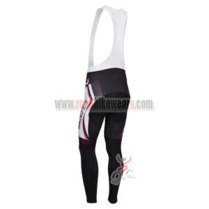 2013 Team SCOTT Riding Long Bib Pants White Black Purple