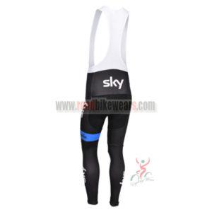 2013 Team SKY CycleLong Bib Pants Black