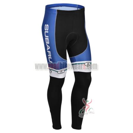 2013 Team SUBARU Cycle Apparel Riding Padded Long Pants Tights ... 0bf6b6331