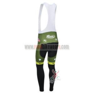2013 Team VINI FANTINI Pro Cycle Long Bib Pants