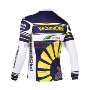 2013 Team Vacansoleil Cycle Long Sleeve Jersey