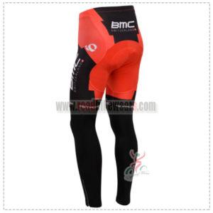 2014 Team BMC Biking Long Pants Red Black