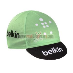 2014 Team Belkin Cycling Hat Green Black