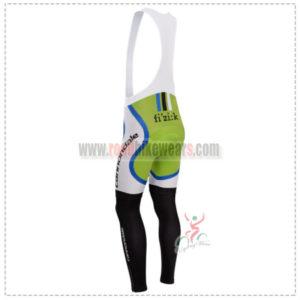 2014 Team CANNONDALE Pro Riding Long Bib Pants Green White