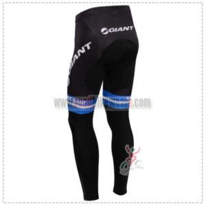 2014 Team GIANT Riding Long Pants Black Blue