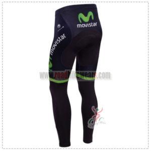 2014 Team MOVISTAR Bicycle Long Pants