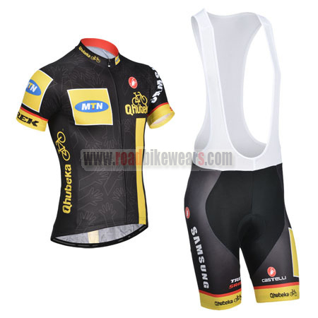 2014 Team MTN Qhubeka Riding Outfit Bicycle Jersey and Padded Bib Shorts ... 20cdd3d75
