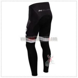 2014 Team NALINI Biking Long Pants Red White
