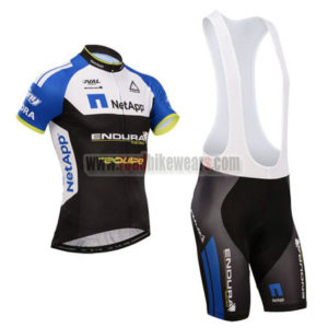 5c7736697 2014 Team NetApp Riding Outfit Bicycle Jersey and Padded Bib Shorts Ropa De  Ciclismo