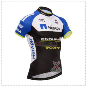 2014 Team NetApp Pro Cycling Jersey Blue White Black