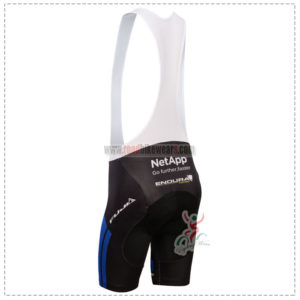 2014 Team NetApp Pro Riding Bib Shorts Blue White Black