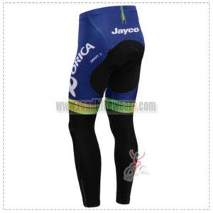 2014 Team ORICA GreenEDGE Biking Long Pants White Blue