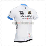 2014 Tour de Italia Cycling White Jersey