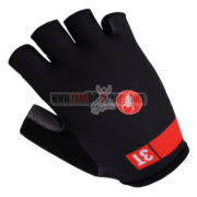 2015 Team 3T Cycling Gloves Mitts Half Fingers Black Red