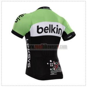 2015 Team Belkin Bicycle Jersey ropa de equitación