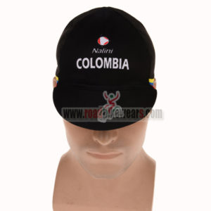 2015 Team COLOMBIA Bicycle Cap Hat Black