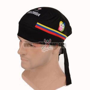 2015 Team COLOMBIA Riding Bandana Scarf Black