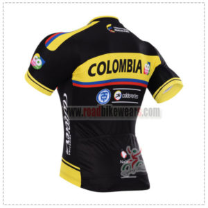 6bc6ba19427 2015 Team COLOMBIA Riding Jersey