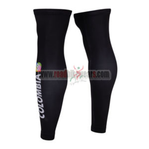 2015 Team COLOMBIA Riding Leg Warmers Black