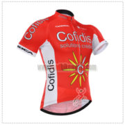 2015 Team Cofidis Cycling Jersey Red White