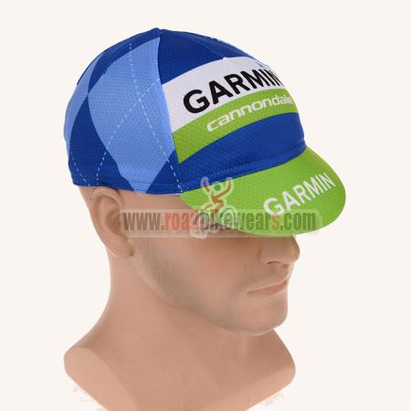 37901a19bcc 2015 Team GARMIN cannondale Racing Gear Cycle Cap Hat Blue Green ...
