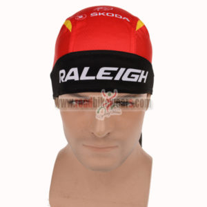 2015 Team RALEIGH Bicycle Bandana Scarf Red