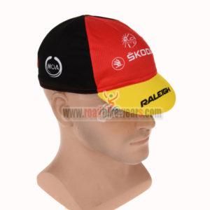 2015 Team RALEIGH SKODA Pro Cycle Cap Hat