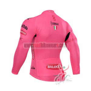 2015 Tour de Italia Bicycle Long Jersey Pink