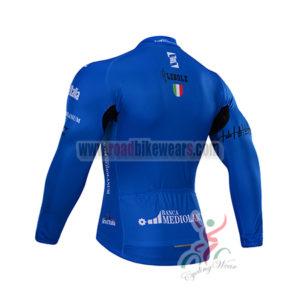 2015 Tour de Italia Biking Long Jersey Blue