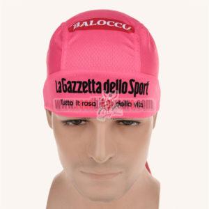 2015 Tour de Italia Cycle Bandana Scarf Pink