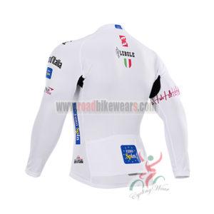 2015 Tour de Italia Racing Long Jersey White