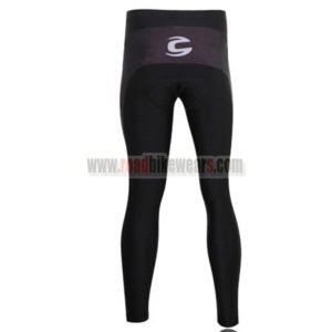 2009 Team Cannondale Cycle Long Pants Black Red