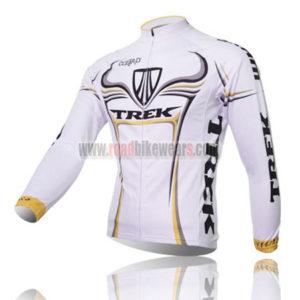 2009 Team TREK Cycle Long Jersey White