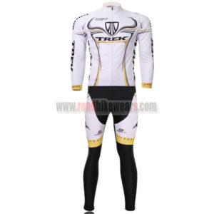 2009 Team TREK Cycle Long Kit White