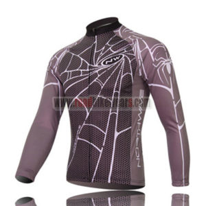 2010 NW Northwave Spider Cycle Long Jersey Grey