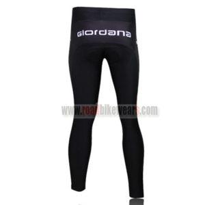 2010 Team PINARELLO Bicycle Long Pants Black White Red