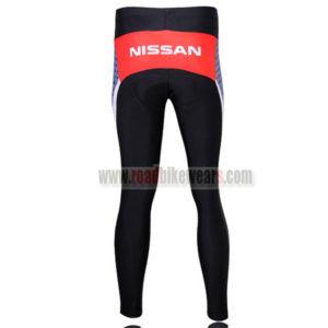 2010 Team RadioShack Riding Long Pants Grey Red